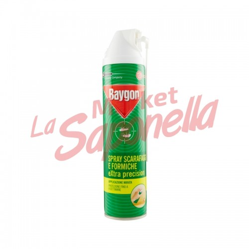 Baygon spray gandaci si furnici extra precizie-400ml